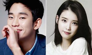 Fan tranh cãi về khả năng IU hợp tác Kim Soo Hyun trong phim mới