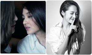 Bảo Anh hôn Kelly say đắm trong MV mới