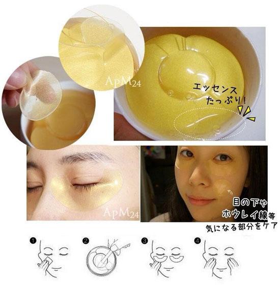 Những loại mặt nạ chống lão hóa cho mắt đơn giản dễ làm