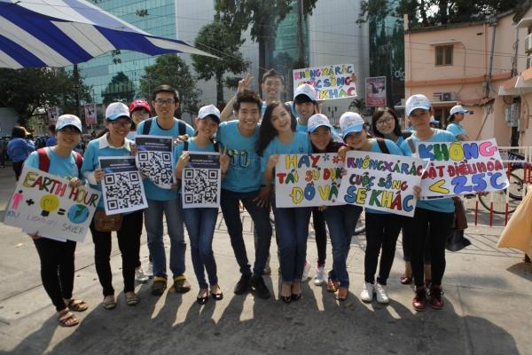 Cũng với tinh thần ấy, Đại sứ Quang Đăng mong muốn dùng những hành động thiết thực nhất để trở thành một đại diện cho thế hệ trẻ quan tâm đến môi trường. Tôi sẽ dùng sự ảnh hưởng của mình để lan toả ý nghĩa chương trình  Quang Đăng phát biểu.