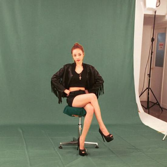 Goo Hara thể hiện khí chất người mẫu