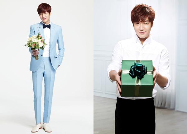 Lee Min Ho bảnh bao tặng hoa, quà và nụ cười