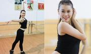 Theo chân hoa khôi Dance sport Vi Anh đến sàn luyện tập