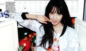 Yoon Ah làm cô 'bán trái cây' xinh lung linh chào hè