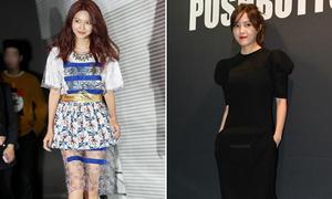 Loạt sao Hàn đa phong cách dự Seoul Fashion Week