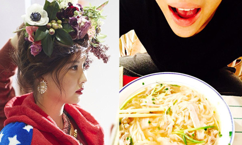 Sao Hàn 27/3: Bam Bam khen phở Hà Nội ngon nức nở, Seo Hyun già khác lạ