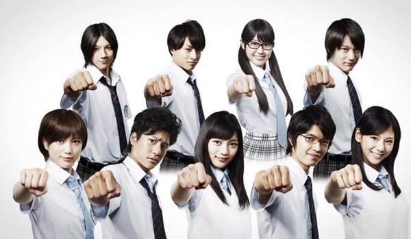 Các học trò dễ thương của thầy giáo Onizuka.