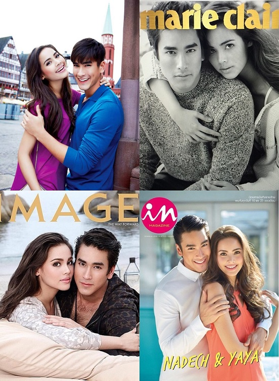 Xét về mức độ đẹp đôi và phản ứng tạo được khi đóng cùng nhau, tại Thái chưa cặp đôi nào vượt mặt được Nadech và Yaya. Họ có hẳn một fanclub chung có tên gọi được ghép từ tên của 2 người là Yadech.