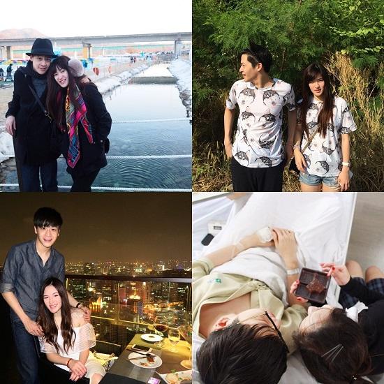 Hết đi chơi riêng, xem phim rồi lại đến thăm người tình tại trường quay hay bệnh viện& Hình ảnh đáng yêu của họ khiến nhiều fan mong muốn họ là cặp đôi thật sự ngoài đời.