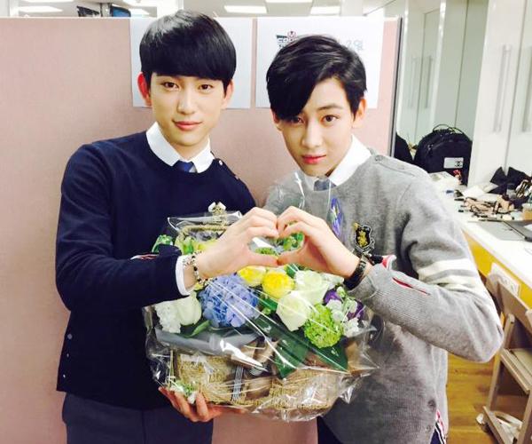 Jr và Bam Bam (GOT7)