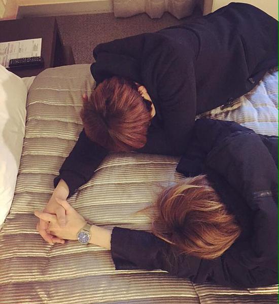 Soo Hyun và Kevin (Ukiss)