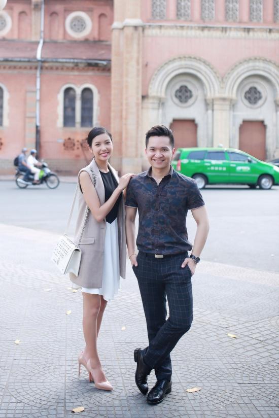 Trong tháng 4, Thúy Vân sẽ trở thành MC của một kênh truyền hình chuyên biệt về ngoại ngữ để làm quen với phong cách và môi trường làm việc quốc tế.