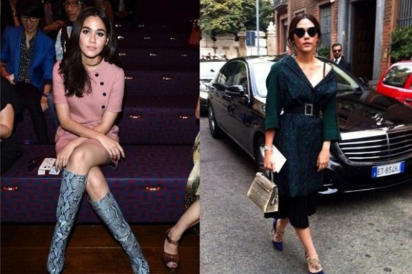 Không chỉ xuất hiện như một người mẫu chuyên nghiệp, cô nàng đa tài này còn thường xuyên được mời tham dự những tuần lễ thời trang ở châu Âu.