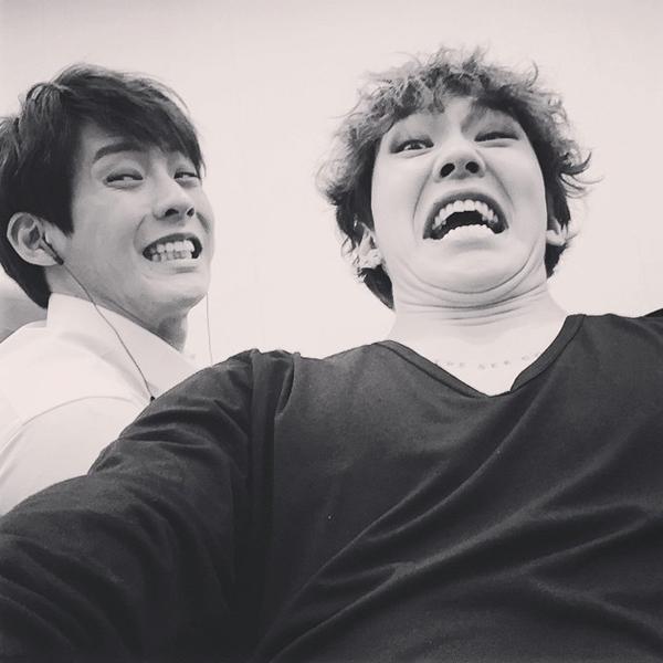 Il Hoon và Chang Sub (BTOB)
