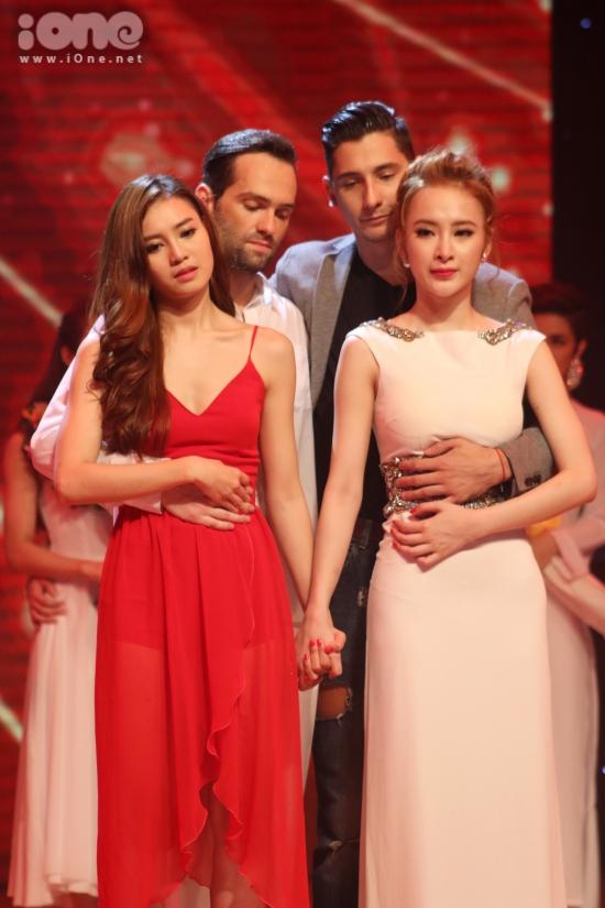 Trong liveshow cuối, cả Lan Ngọc và Angela Phương Trinh đều giành được số điểm giám khảo ngang nhau.
