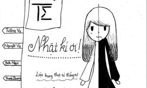 Truyện tranh 'Nhật ký không trung thực' made by teen Đinh Thiện Lý