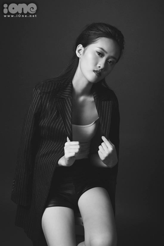 Mình có ước mơ được làm người mẫu cao cấp cho những nhà thiết kế Việt Nam lẫn nước ngoài.