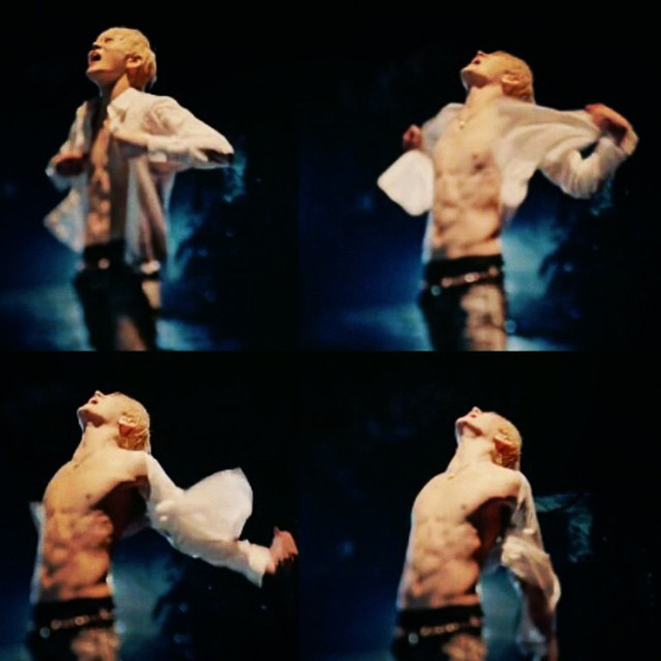 Ren (NU'EST) khiến fan girl gào thét với màn cởi áo khoe body trong MV ca khúc tiếng Nhật mới ra lò Na Na Na (Rain of tears).