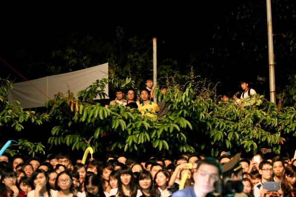 Nằm trong dự án Hồ Ngọc Hà Tour diễn xuyên Việt, đêm diễn tại Đại học Bách khoa Đà Nẳng thu hút gần 10000 khán giả tham dự. Tuy nhiên, do số lượng vé hạn chế nên nhiều khán giả, bạn sinh viên không ngần ngại leo cây, trèo tường để theo dõi đêm nhạc.