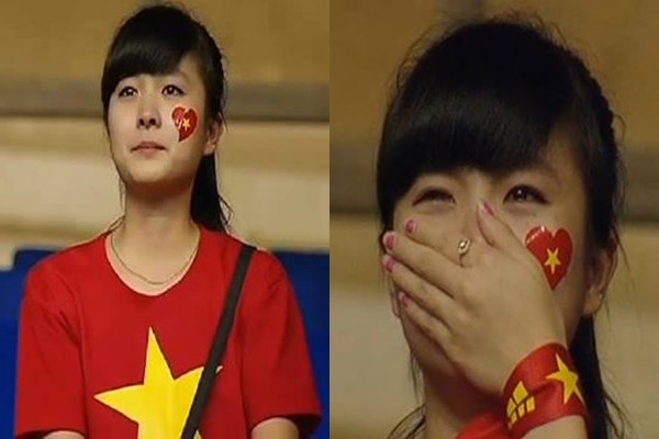Dương Thị Nhật Lệ (sinh năm 1993), hiện là sinh viên Học viện Tài chính Hà Nội. Cô nàng dành tình cảm đặc biệt cho các tuyển thủ U19 Việt Nam và theo dõi sát sao các trận đấu của các chàng trai.