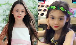 'Bông hồng lai' 7 tuổi sở hữu thần thái như hoa hậu