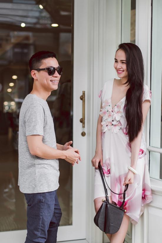 Diễm Hương vừa nhận lời đảm nhận vị trí vedette trình diễn bộ sưu tập mới nhất của nhà thiết kế Adrian Anh Tuấntại Đẹp Fashion Runway Show chiều 18/04