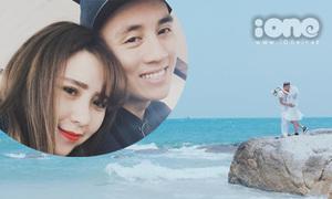 Ảnh cưới ở biển Thái Lan siêu lãng mạn của hot boy Kiên Hoàng