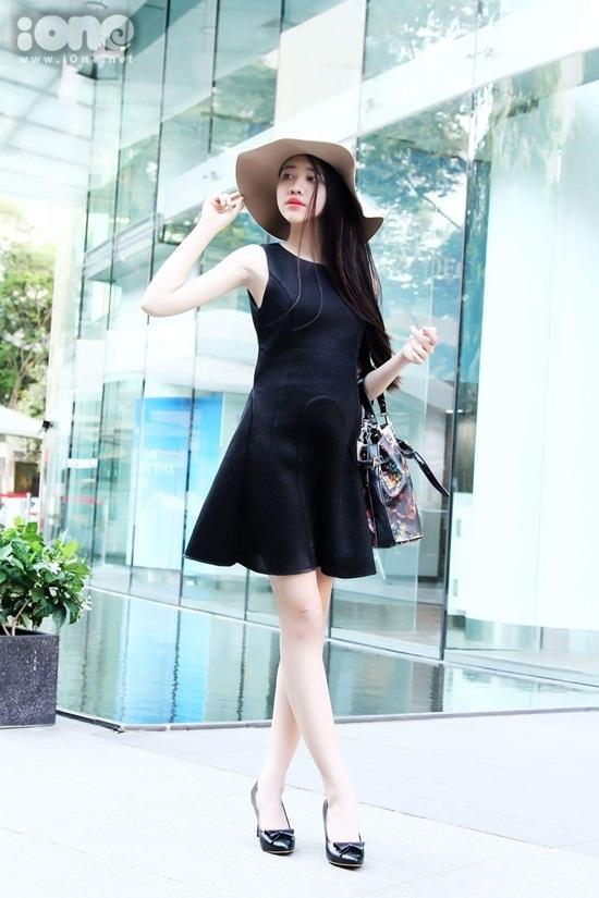 Ánh My xem người mẫu, diễn viên Trang Nhung là niềm tự hào để cố gắng phấn đấu.
