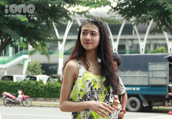 Cô nàng vừa đảm nhận một vai diễn trong bộ phim hài Ma dai  do chồng của dì Trang Nhung làm đạo diễn. Nói về cơ duyên đến với phim, Ánh My cho biết: Mình có tham gia một số hoạt động nghệ thuật ở trường, lại yêu thích nghệ thuật từ bé và có mơ ước làm diễn viên. Đây là một vai diễn phụ trong phim, cũng không quá khó khăn nên khi được dì Trang Nhung giới thiệu với ê kíp thì mình đã được chọn.