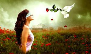 Chữ Love hé lộ quan điểm của bạn về tình yêu