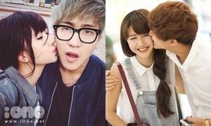 Những nụ hôn làm nên 'thương hiệu' của cặp đôi B Trần - Quỳnh Anh Shyn