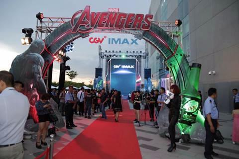 Avengers: Đế chế Ultron đã có buổi công chiếu ấn tượng tại SC Vivo City