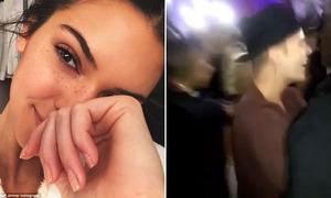Sao US-UK 27/4: Kendall Jenner mặt tàn nhang, Justin Bieber đột nhập trường học