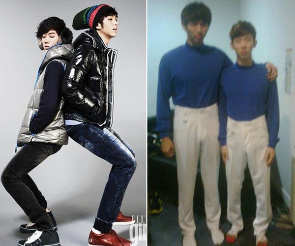 Jo Kwon (2AM) từng thú nhận chiều cao thật của mình là 1m73. Anh chàng cho biết hình thể   thấp bé nhẹ cân khiến anh chàng rất đau đầu và thường phải đi giày đế cao để tự tin hơn.   Tuy vậy, Jo Kwon lại rất hút fan khi tham gia các show giải trí bởi tính cách ngốc nghếch dễ   thương.
