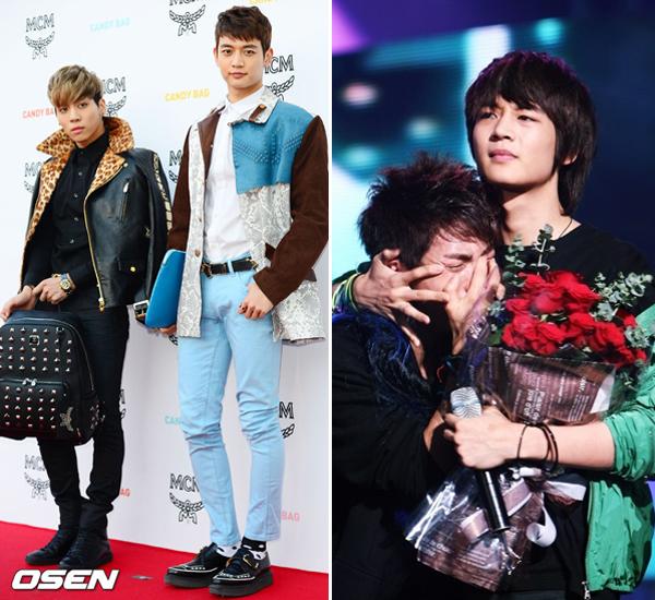 Jong Hyun (SHINee) cao 1m73 cũng thuộc dạng lùn trong Kbiz. Anh chàng đứng cạnh Min   Ho càng thể hiện rõ sự chênh lệch chiều cao. Dù thấp bé nhưng Jong Hyun là giọng ca chính   của nhóm, có giọng hát khỏe và rất thành công với vai trò ca sĩ solo.