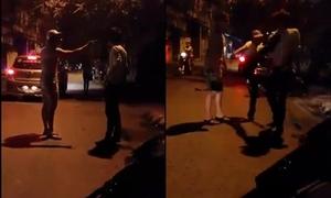 Nam thanh niên 'ăn chưởng' vì đánh bạn gái giữa đường