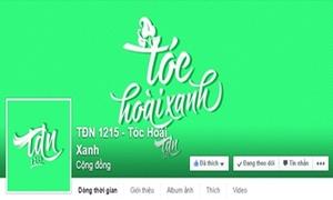 Teen Trần Đại Nghĩa nhuộm xanh Facebook cho ngày ra trường