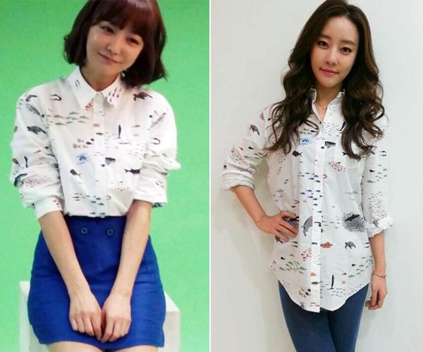 Actress Shin So Yul vs Go Ou Ri from Rainbow