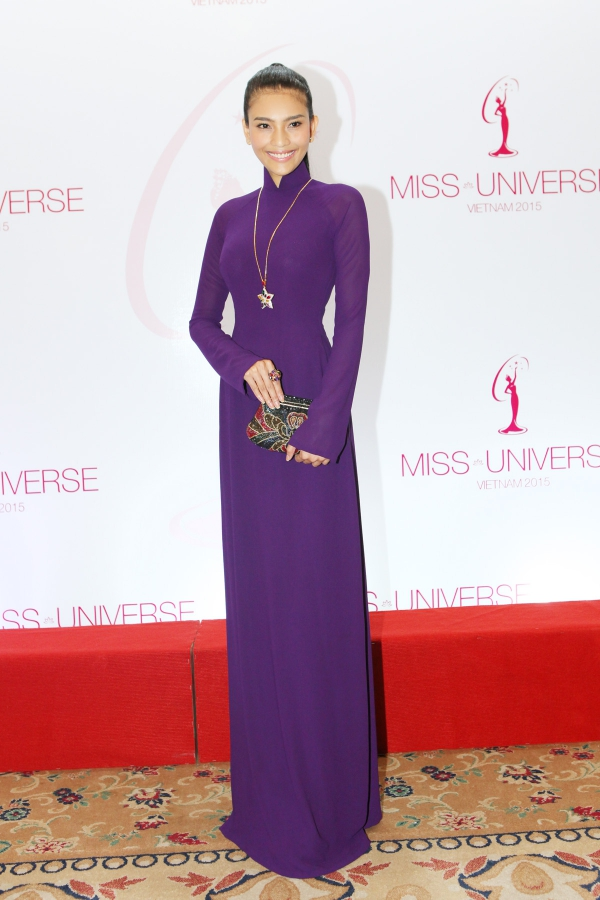 Trương Thị May từng tranh tài tại Hoa hậu Hoàn vũ 2013, tổ chức ở Nga.