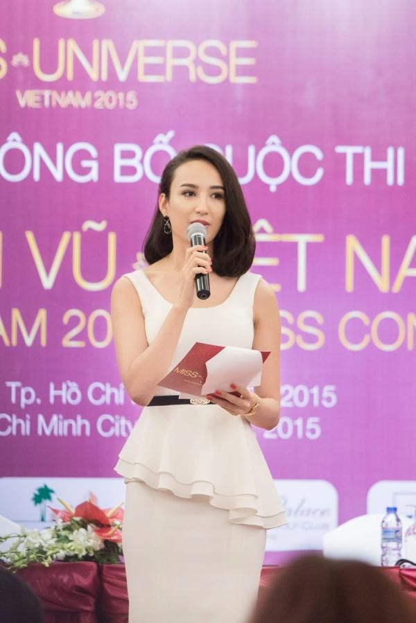Người đẹp đảm nhận vai trò MC của sự kiện. Trong lần thứ hai tổ chức, Hoa hậu Hoàn vũ Việt Nam tạocơ hội cho các thiếu nữ có quốc tịch Việt Nam, từ 18-25 tuổi, cao tối thiểu 1m65 và chưa từng phẫu thuật thẩm mỹ trở thànhđại diện Việt Nam tại các cuộc thi Hoa hậu Hoàn vũ 2015. Vòng bán kết và chung kết diễn ra tại Nha Trang và sẽ có không phần thi tài năng.