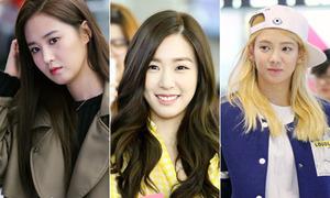Khám phá túi mỹ phẩm của Tiffany, Yuri, Hyo Yeon khi du lịch