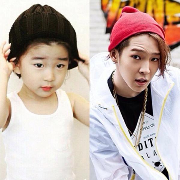 """Jeong Ryo (hay Rio), sinh ngày 19/7/2011, được các fan của WINNER """"khai quật"""" khi làm   mẫu nhí quảng cáo thời trang trẻ em online."""