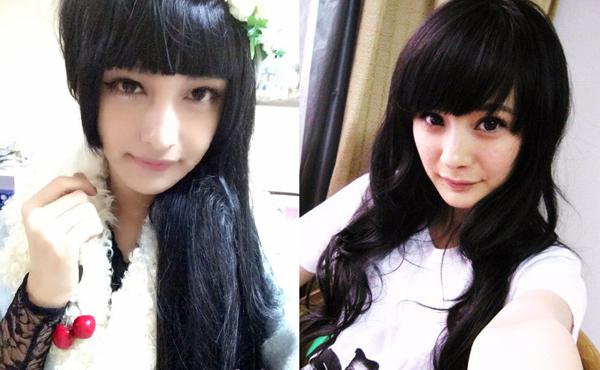 Vương Hiểu Tuấn giống nữ diễn viên nổi tiếng đến 90% khi giả gái.