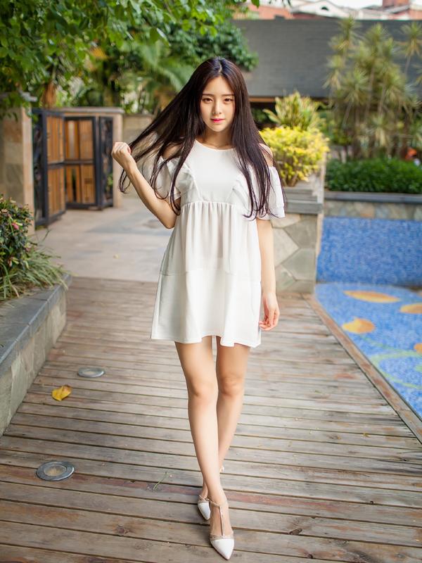 Nữ sinh 18 tuổi được ca ngợi là hoa khôi ĐH Hạ Môn (tỉnh Phúc Kiến).