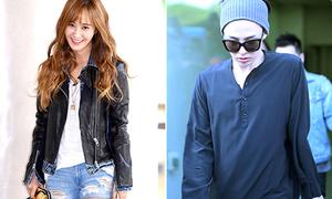 Yuri mái thưa đáng yêu, G-Dragon chân thon, mướt hơn con gái