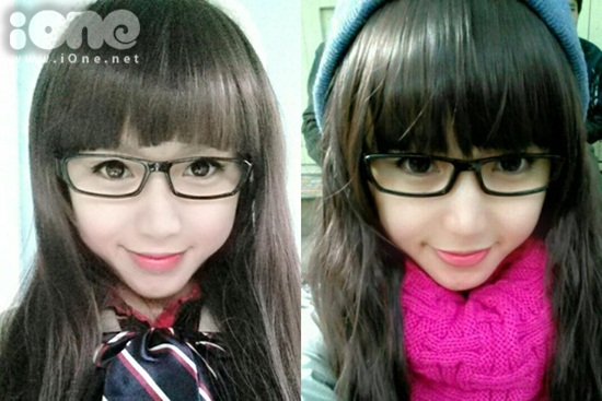 Tống Nhật Lan Anh (sinh năm 1994) là giáo viên mầm non ở Huế. Cô bạn sở hữu gương mặt xinh xắn như búp bê với đôi mắt tròn, làn da trắng.