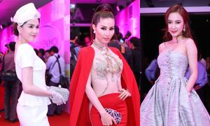Diễm My 9X diện gợi cảm lấn át Ngọc Trinh, Angela Phương Trinh