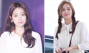 Taec Yeon bị Park Shin Hye hớp hồn, Jessica thắt bím điệu đà