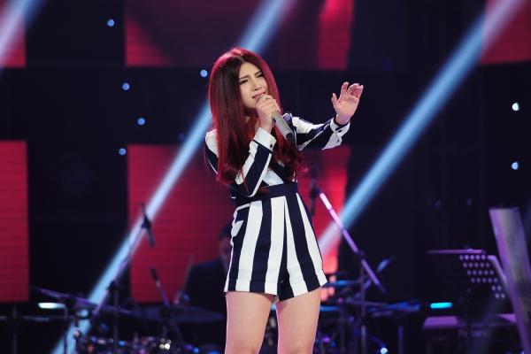 Trần Thị Tố Ny lần thứ hai tham gia cuộc thi The Voice 2015.