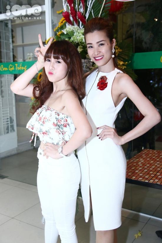 vũ công Lan Nhi - người đã biên đạo hầu hết tiết mục của Đông Nhi trong chương trình